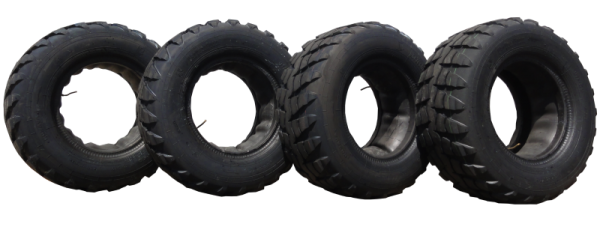 4 x Reifen+Schlauch ROSAVA 16/70-20 U27 14PR UTP50 147F (16.0/70-20)+(Metall-Winkelventil V3) neu