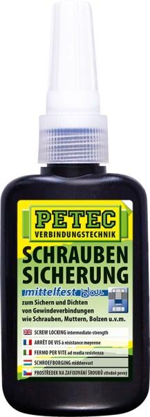 PETEC Schraubensicherung mittelfest 50 g