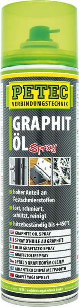 PETEC Graphitöl Spray 500 ml