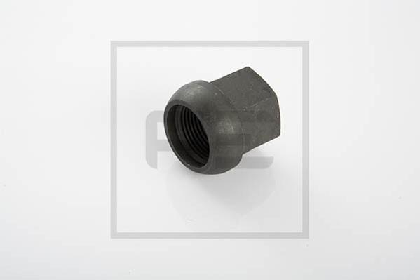 Radmutter Kugelbund CM 20x1,5 SW 27 verzinkt HW 60 / THK 5