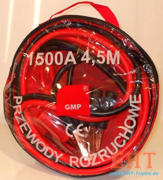 Starthilfekabel GMP 50qmm/1500A/4,5M