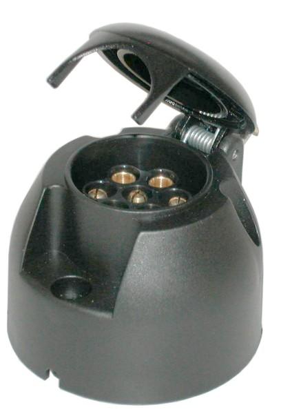Steckdose 12V 7-polig Kunststoff