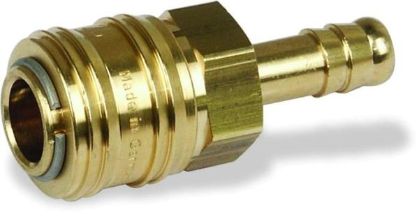 Druckluftkupplung Muffe mit Tülle 9mm