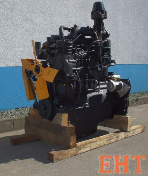 Motor Belarus MTS D243 komplett mit Anlasser (MTS 80, 82) [ ohne Öl, Kupplungsfinger nicht voreinge