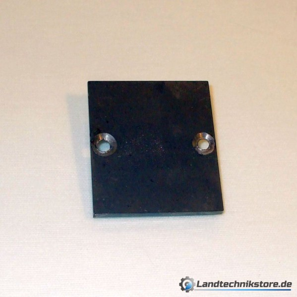 Gleitplatte für Bremsbacke HW60 / HW80