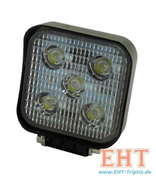 LED Arbeitsscheinwerfer rechteckig 1000 lm 15 Watt