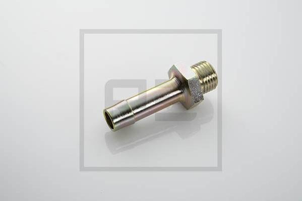 Schlauchstutzen mit Gewinde M22x1,5 Ø11 mm