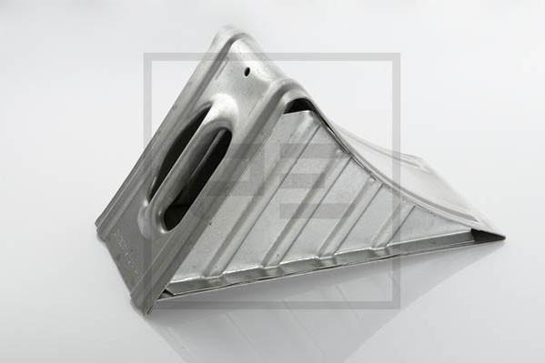 Hemmschuh / Vorlegekeil Metall 160mm DIN 76051