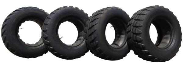 4 x Reifen ROSAVA 16/70-20 U27 14PR UTP50 147F (16.0/70-20) mit Schlauch (Metall-Winkelventil V3) ne