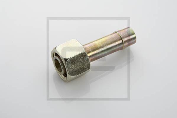 Schlauchstutzen vormontiert mit Überwurfmutter M22x1,5 Ø 13 mm