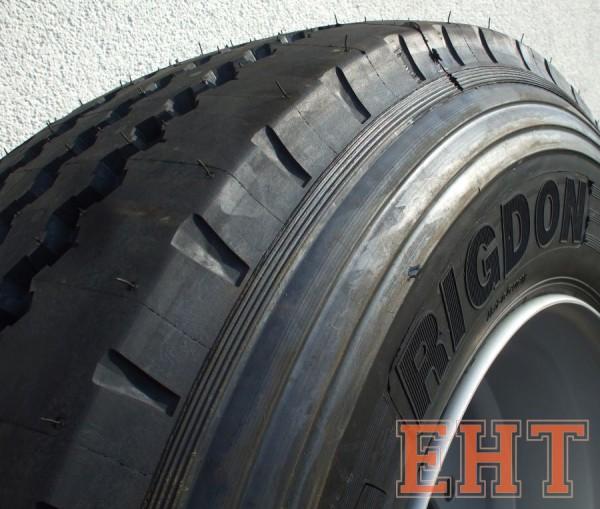 Komplettrad HW 60 RIGDON 385/55 R22.5 SP 8-Loch Straßenprofil