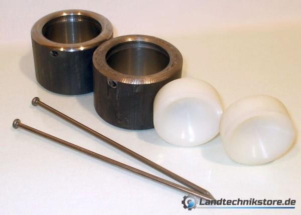 Kugelpfanne Metall 50 mm im Doppelset