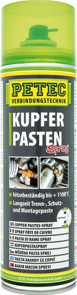 PETEC Kupferpastenspray 500 ml