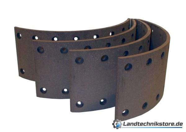 Bremsbelagsatz 140 x 8 mm HW 80