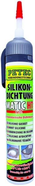 PETEC Silikondichtung MATIC grau 200 ml