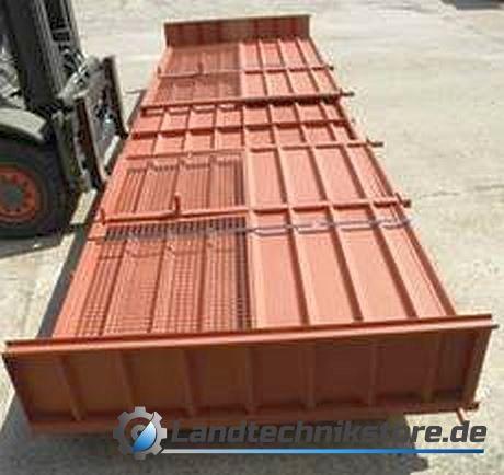 Schwerhäckselaufbau Bausatz HW 80 mit Überblaseschutz