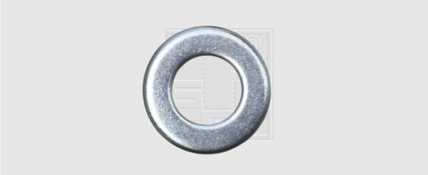 Scheiben M5 verzinkt DIN 125 (100 Stück)