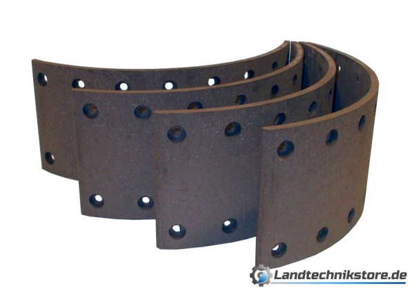 Bremsbelagsatz 140 x 9 mm HW 80