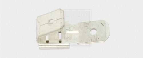 Flachsteckhülse Steckverteiler unisoliert 6,6 x 0,8