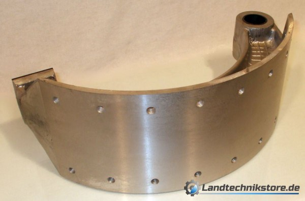Bremsbacke HW 80 ohne Belag  140 mm