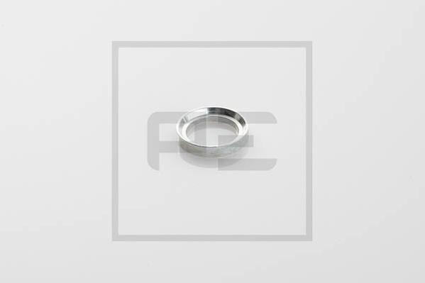 Druckring / Bremsring Messing 16 x 22 x 2,5 L10