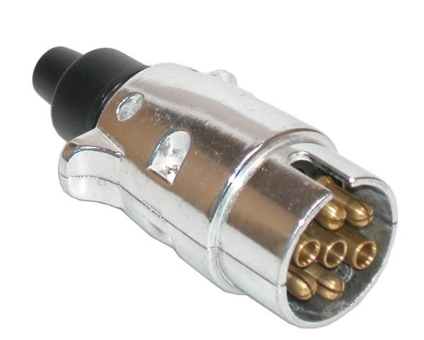 Stecker 12V 7-polig Metall
