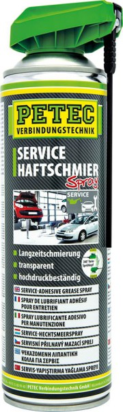 PETEC Service Haftschmier Spray 500 ml