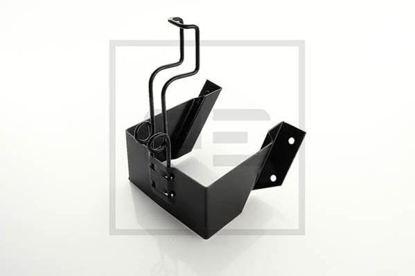 Halterung für Hemmschuh / Vorlegekeil 160 mm DIN 76051