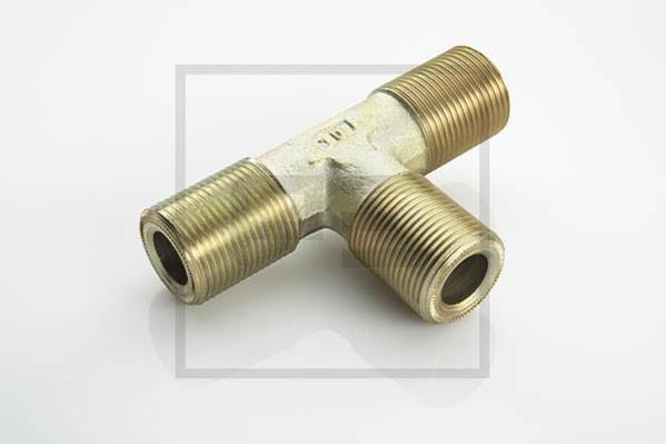 T-Stutzen Druckluft 3 x M22x1,5 L15