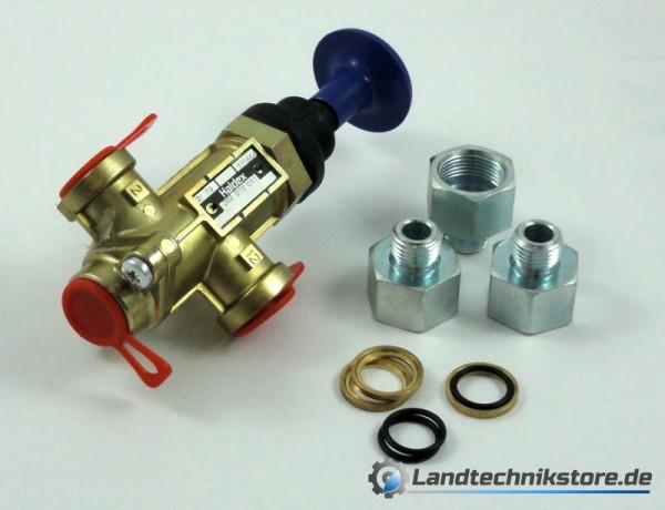 Dreiwegeventil Haldex 352018011 +Adapter HW 80 / 60 (3232.0)