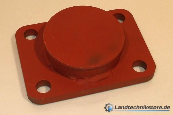 Federspannplatte für Gummifeder GF 7 LB: 145x100 HW60
