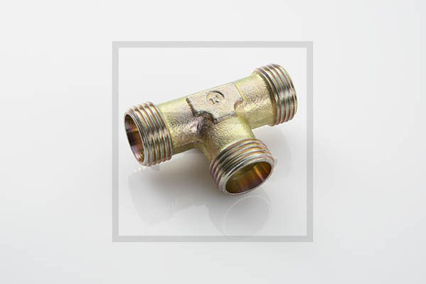 T-Stutzen Hydraulik 3 x M18x1,5 L12