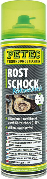 PETEC Rostschock Kälteschock Spray 500 ml