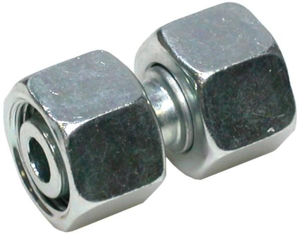 Rohrverbinder / Doppelverbinder M22x1,5 L15/L15