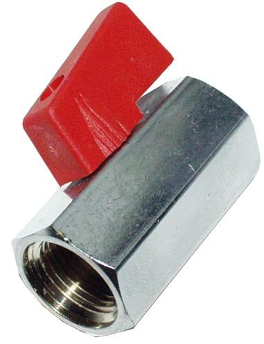 Mini-Kugelhahn 3/8 '' IG bis 30 bar