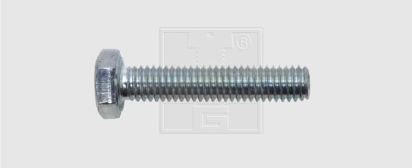 100 St/ück DIN 933 Sechskantschrauben 8.8 verzinkt M6 x 35 mm