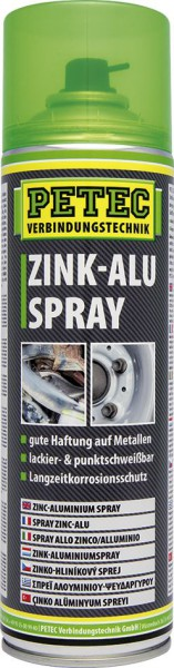PETEC Zink-Alu Spray 500 ml