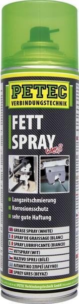 PETEC Fettspray weiß 500 ml