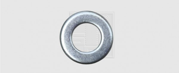 Scheiben M20 verzinkt DIN 125 (100 Stück)