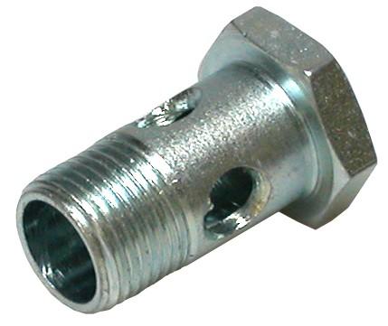 Hohlschraube einfach M6x1 DIN 7643 SW 11