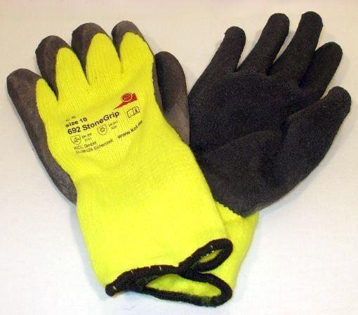 Kälteschutzhandschuh StoneGrip gelb/schw. Gr.10 692