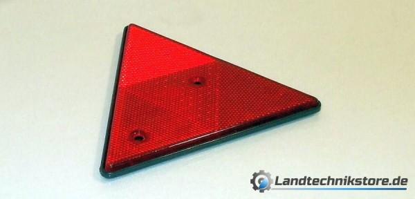 Rückstrahler rot dreieckig 160 mm