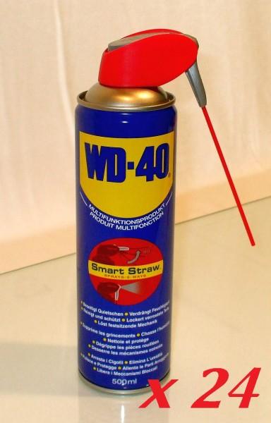 WD-40 Multifunktionsspay 500ml 24 Stück Smart Straw