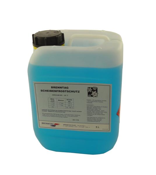 Scheibenfrostschutz -60°C 5 Liter Kanister