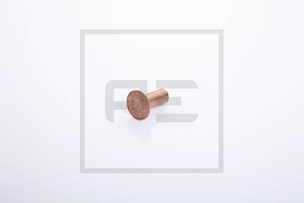Nieten A 8x18 Kupfer für Bremsbelag 100 Stück