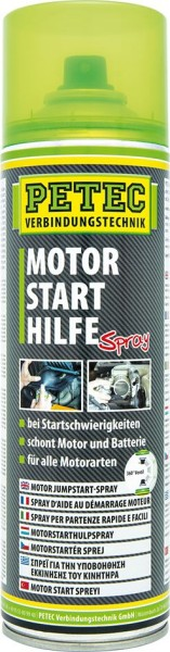 PETEC Motorstarthilfe Startpilot Spray 500 ml