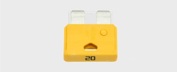 Flachstecksicherung Standard 25 Ampere (50 Stück)