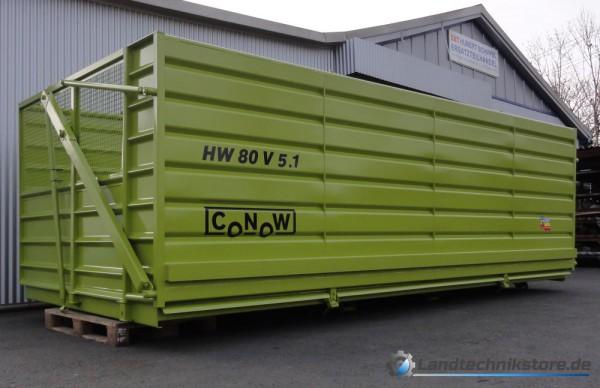 Schwerhäckselaufbau HW 80 5.1 komplett mit Überblaseschutz