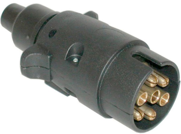 Stecker 12V 7-polig Kunststoff