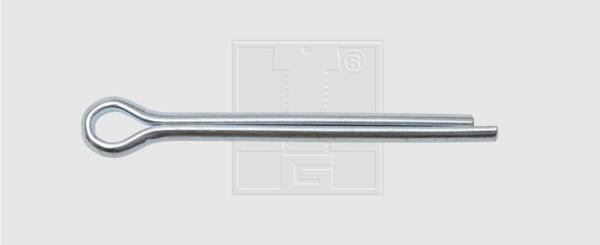 Splint 8 x 80 verzinkt (25 Stück)